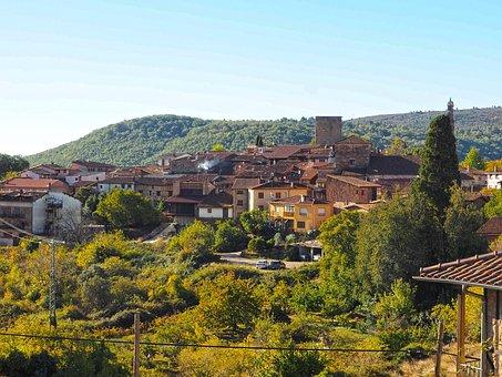 Miranda Del Castañar, Salamanca, Landscape, Mountain