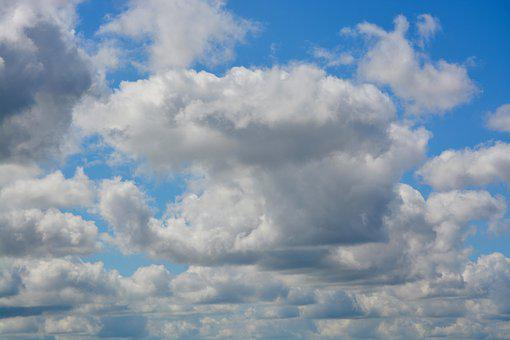 Sky, Cloudy Blue Sky, Panoramic View Of The Sky, Nature