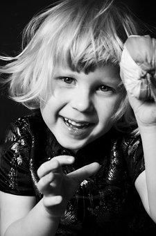 Kids, Face, Smile, Hapines, Child, Portrait Of A Child