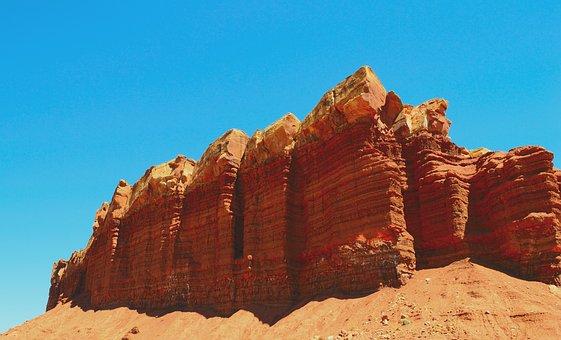 Utah, Redrock, Landscape, Rock, Usa, Southwest, Desert