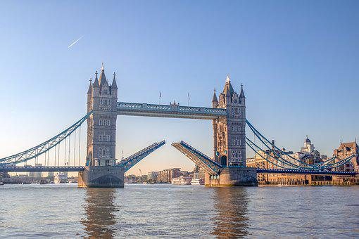 London, Tower Bridge, Bridge, England, Landmark
