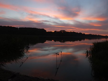 Sunset, Landscape, In The Evening, Sky, Twilight