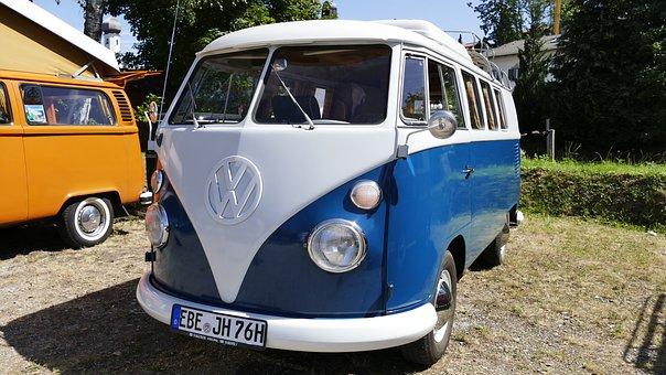 Auto, Bus, Volkswagen, Vehicle, Vw, Automotive, Cult