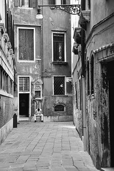 Vacations, Venice, Personal, Black And White, City Life