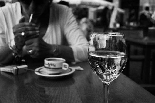 Wine, Cup, Blur