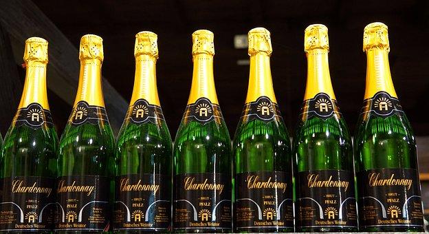 Wine, Wine Bottles, Drink, Champagne