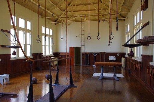 Old Gym In Hot Springs, Fordyce, Bathhouse, Gymnasium
