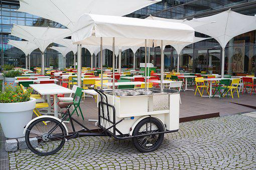 Bike, Street Food, Bike Kitchen, Gastronomy, Restaurant
