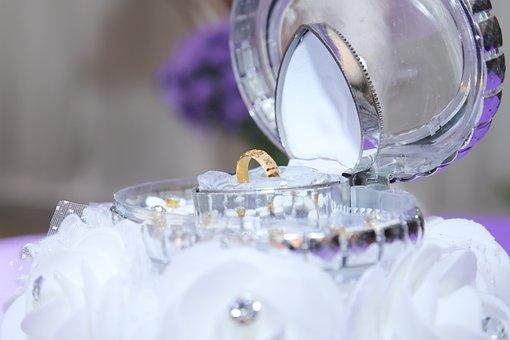 Ring, Wedding, Case, Display