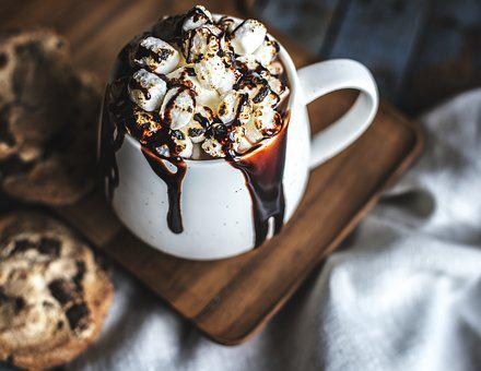 Beverage, Biscuit, Cacao, Chip, Chocolate