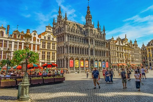 Belgium, Brussels, Grand Place, Architecture, City