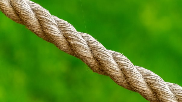 Rope, Green, Cobweb, The Strength Of The