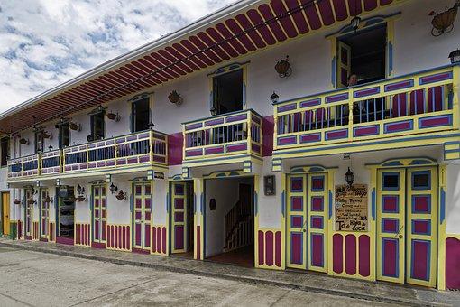 Colombia, Salento, Building, Architecture