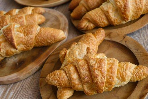 Croissants, Butter, Bread, Croissant, Food, Delicious