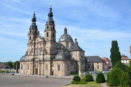 Fulda, Dom, Boniface, St, Salvator, Baroque Church
