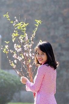 Lady, Hanoi Girl, Bright Smile, Girl Model