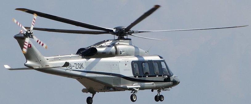 Airport, Zurich, Balls, Helicopter, Agusta-westland