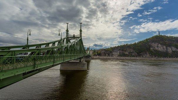 Budapest, Bridge, Danube, City, Hungary, Cityscape