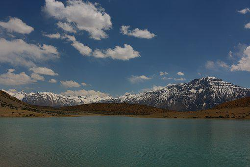 Dhankar Lake, Himachal Pradesh, Spiti Valley, Lake