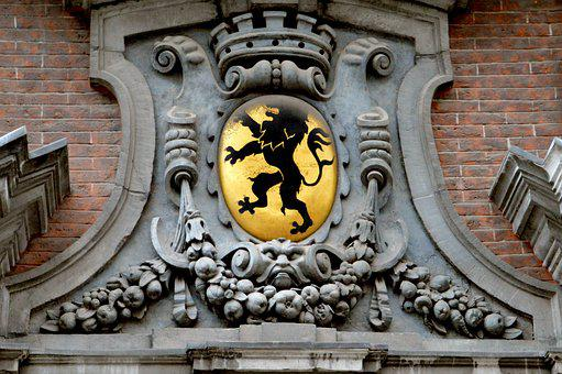 Lille, City, North, Old Lille, Building, Molding