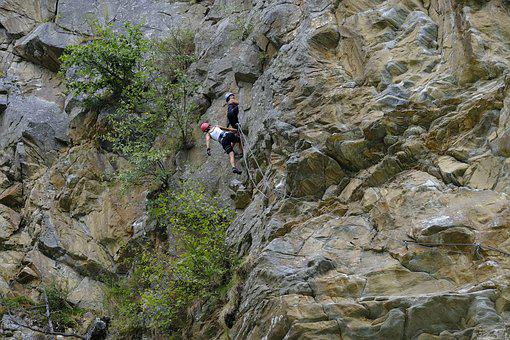 Mountain Climbing Sport, Extreme Sports, Backup, Secure