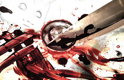 Blood, Knife, Kill, Murder, Red, Blood Stain, Crime