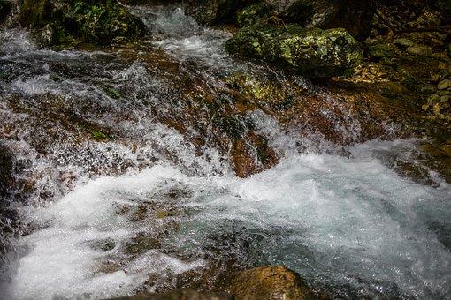 Streams, Pebble, Natural, The Scenery, Rock