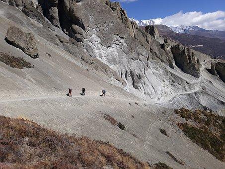 Tilicho Lake Trek, Manang, Nepal, Khangsar, Himalayas