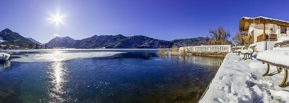 Schliersee, Bavaria, Nature, Landscape, Sky, Panorama