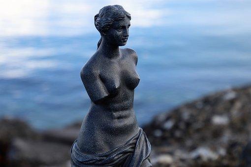 Venus De Milo, The Statue, Sculpture, At The Court Of