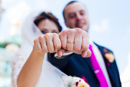 Rings, Wedding, Celebration