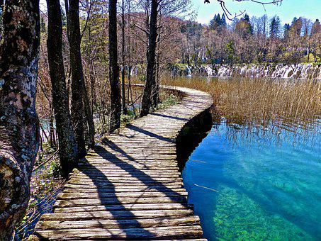 Path, Walkway, Wooden, Wood, Landscape, Outdoor, Scenic