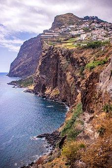 Câmara De Lobos Madeira Island, Costa, Hdr 6k