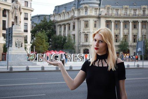 Bucuresti, Bucharest, Romania, City, Capital, Downtown