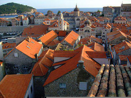 Dubrovnik, Croatia, Travel, Eastern Europe, Summer, Sea
