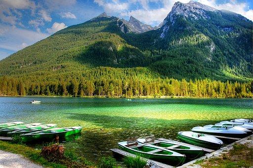 Ramsau, Hintersee, Alpine, Nature, Bavaria