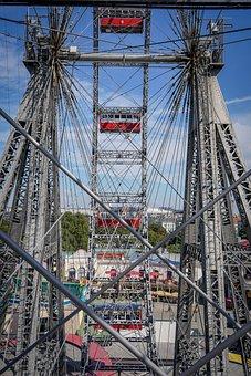 Wiener Riesenrad, Ferris Wheel, Prater, Carousel