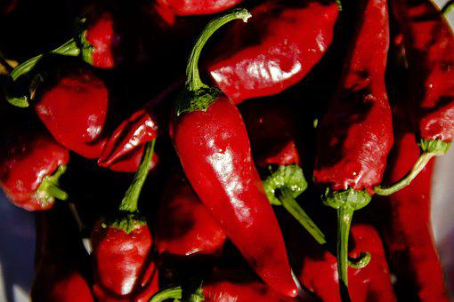 Red Pepper, Burning, Red, Cooking, Food, Pepper