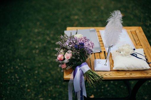 Flowers, Wedding, Celebration, Bouquet, Love, Romantic
