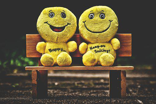 Smilies, Plush, Yellow, Emoticon, Funny, Emotion, Happy