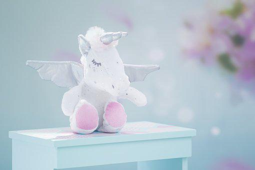 Unicorn, Pegasus, Magical, Pegacorn, Baby, Nap, Fantasy