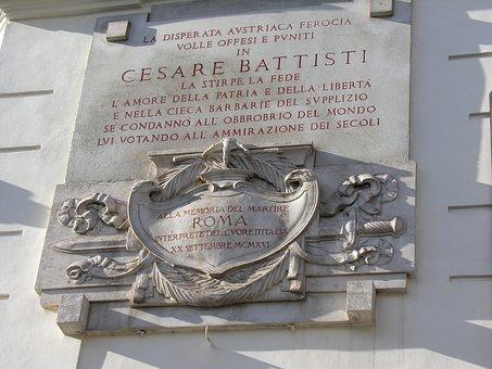 Rome, Architecture, Plaque, Italy, History, Roman