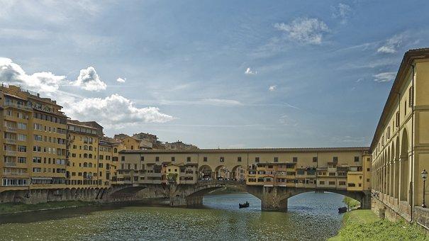 Italy, Florence, Firenze, Ponte Vecchio, Bridge