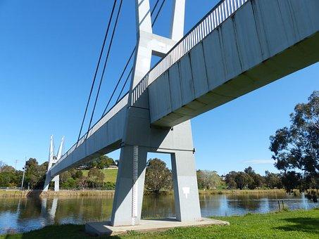 Bridge, Geelong, River