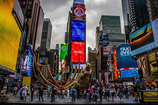New York, Time Square, Broadway, Manhattan, Nyc