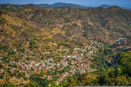 Cyprus, Kalopanayiotis, Village, Troodos, Countryside