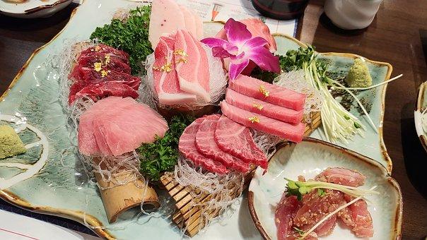 Tuna, Sushi, Food, Fish, Time, Tuna Party, Delicious