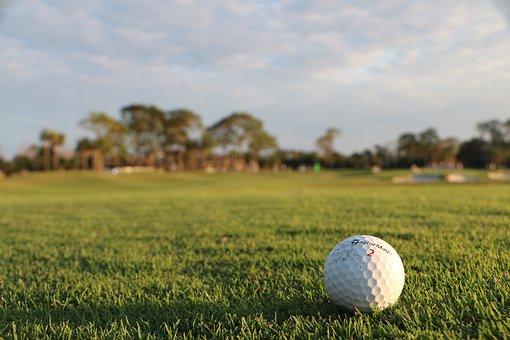 Golf Ball, Golf, Leisure, Fairway