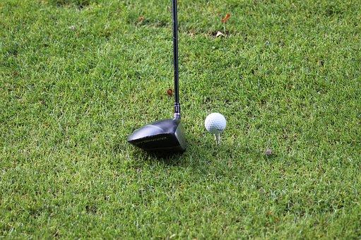 Golf, Golfer, Golf Ball
