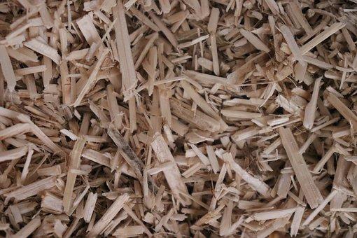 Chip Wood, Wood, Litter, Texture, Shavings, Hemp